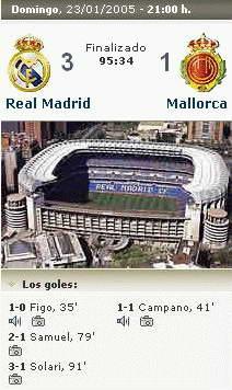 Real Madrid 3 - 1 Real Mallorca
